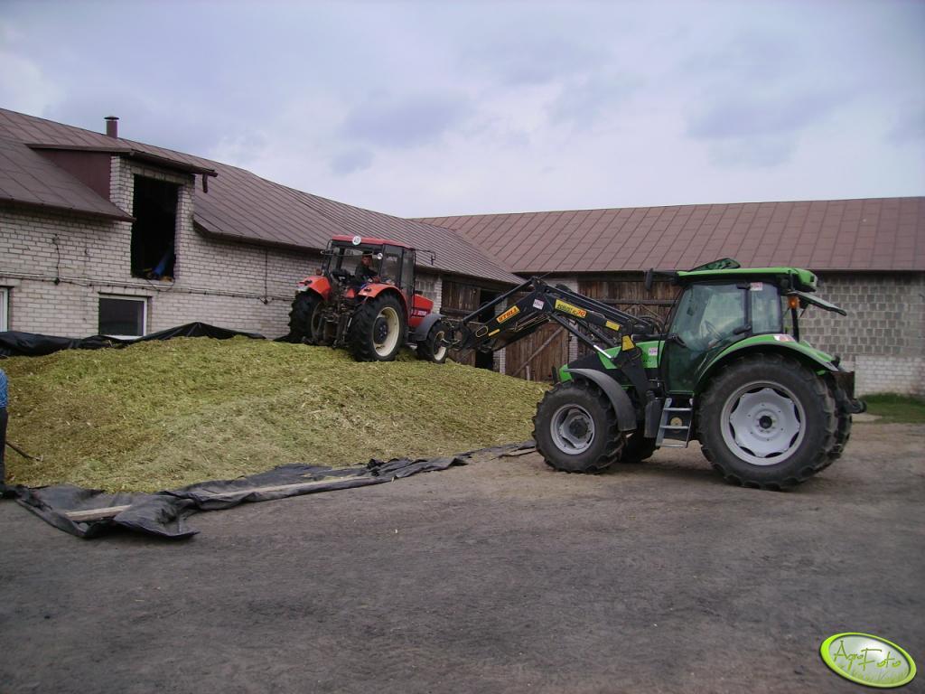 DF Agrotron K100 i  Zetor 9540