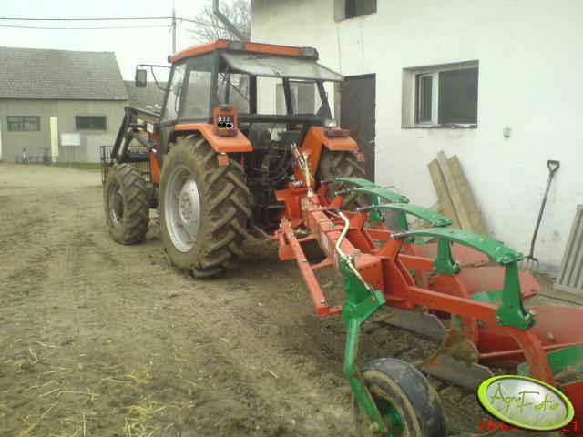 Ursus 5314 + Kverneland AB-100