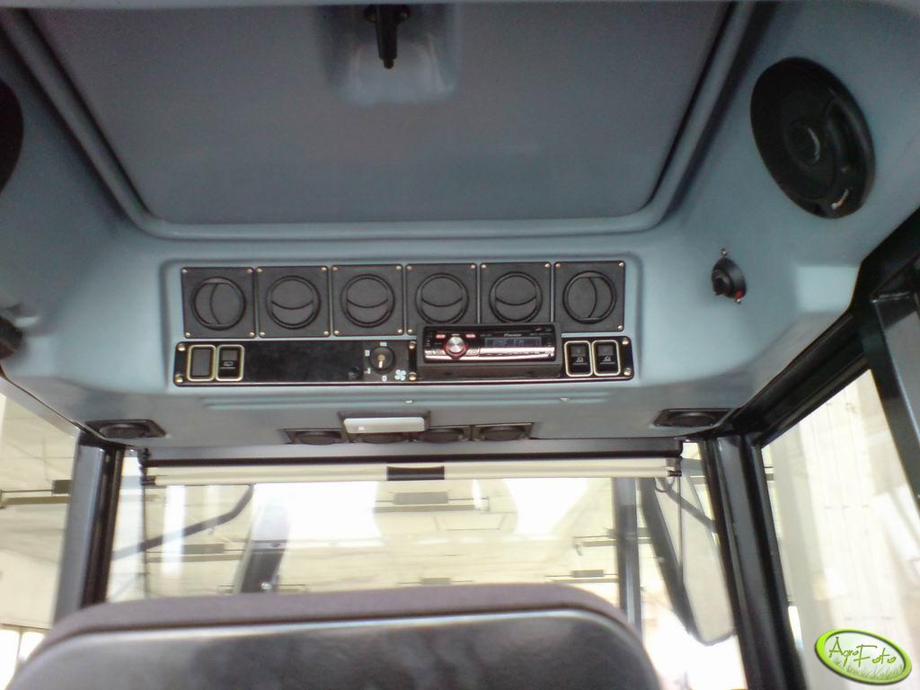 Ursus 5024 radio i głośniki