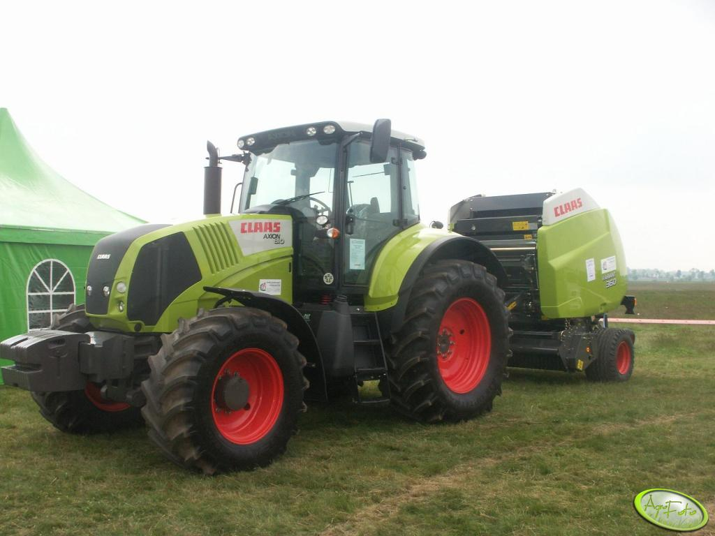 Claas axion + variant 360