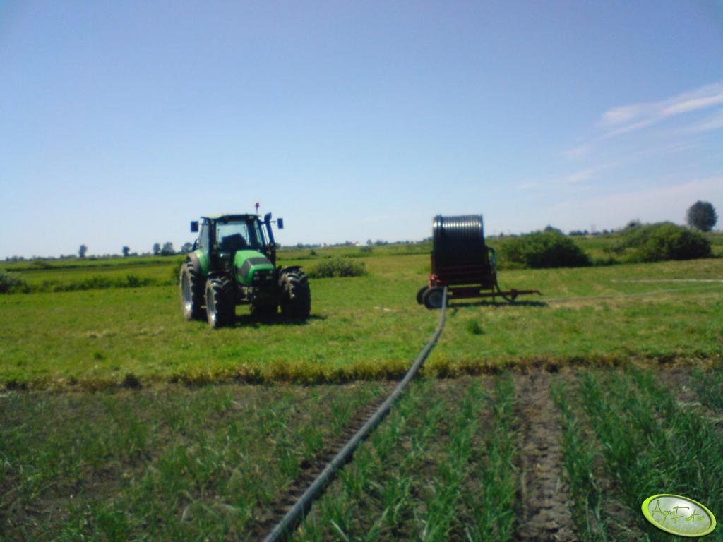 Deutz Fahr Agrotron 155 i deszczownia
