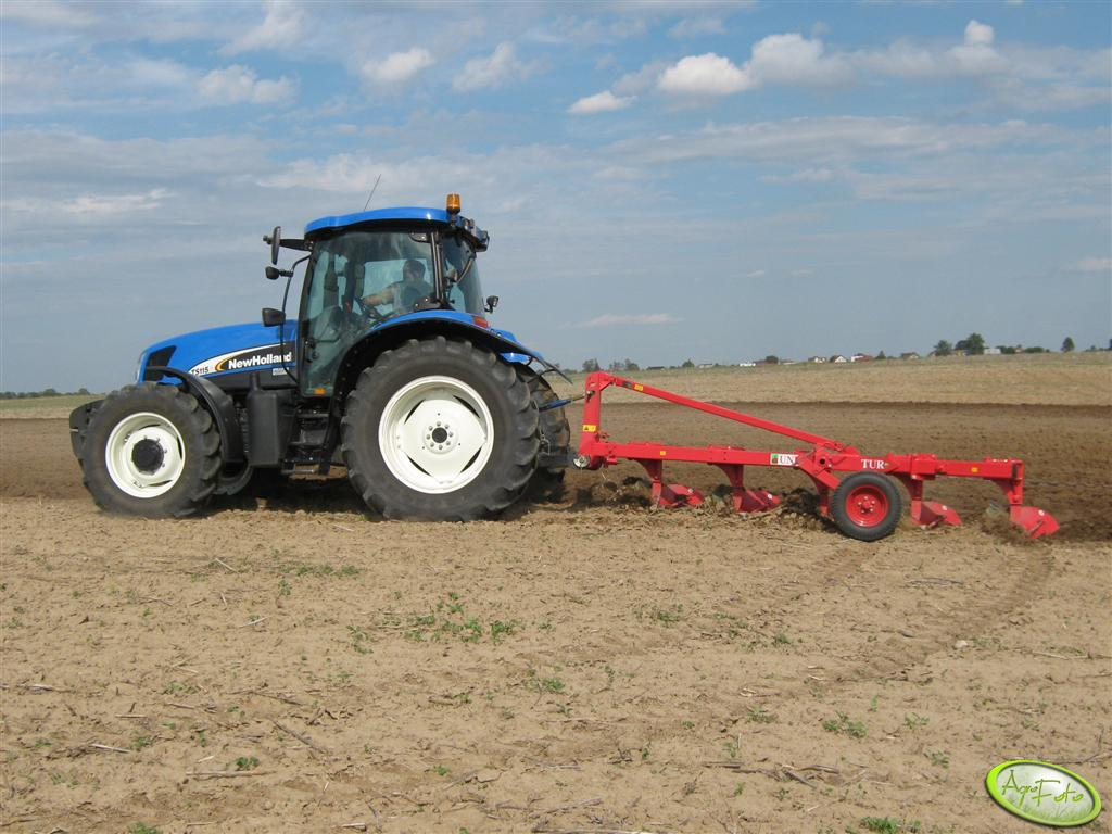 New Holland TS 115A + UNIA TUR 120B 35 4+1