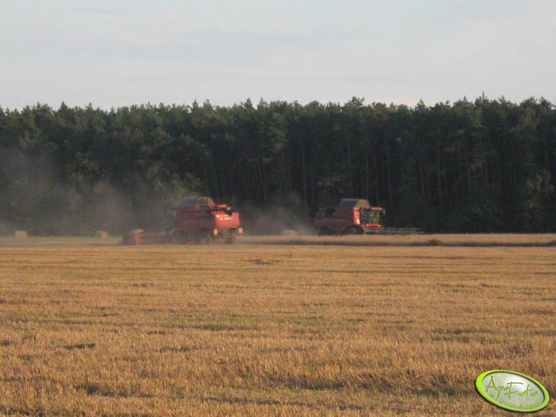 2x Case 8010 Axial Flow