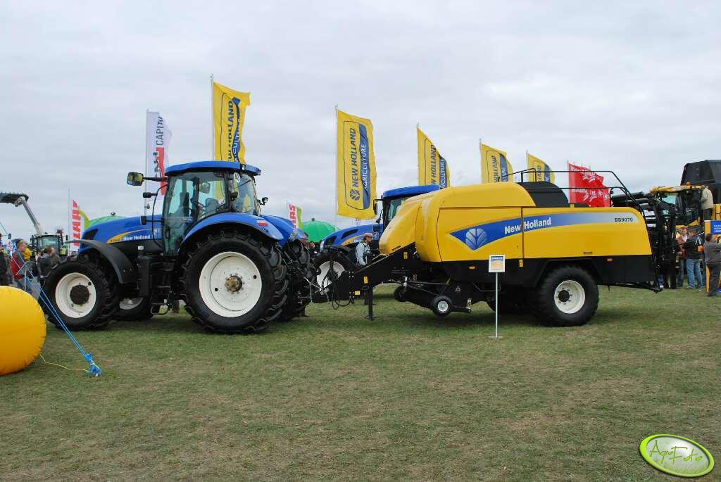 New Holland T7060 + New Holland BB9070