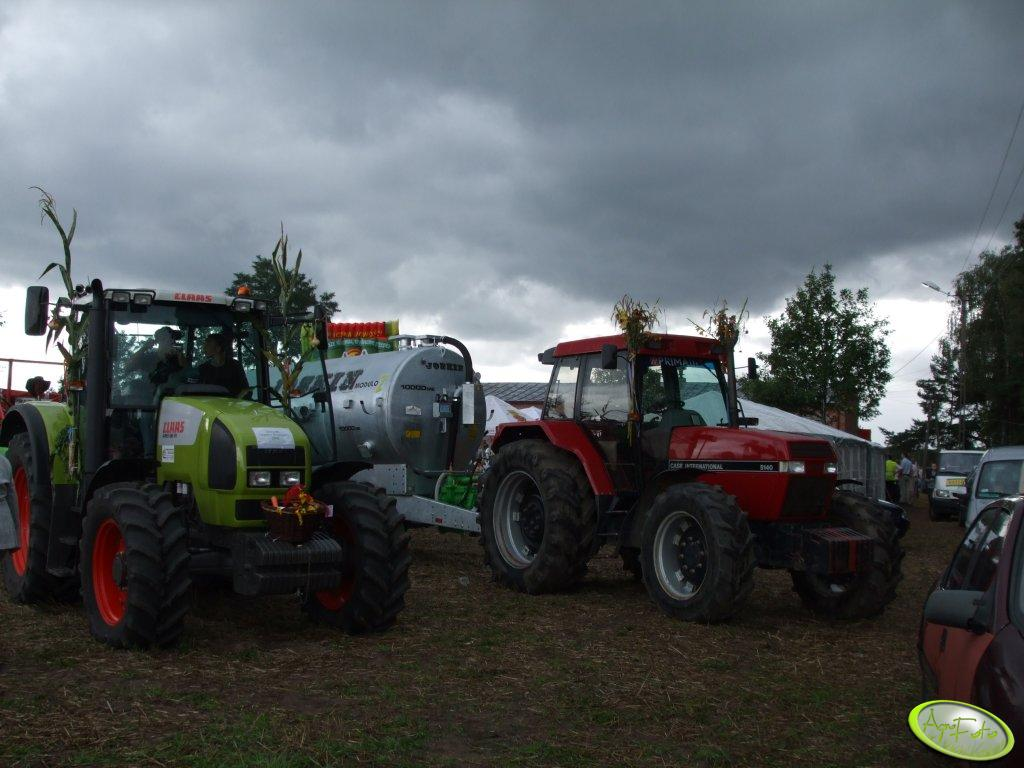 Claas Ares + Case International