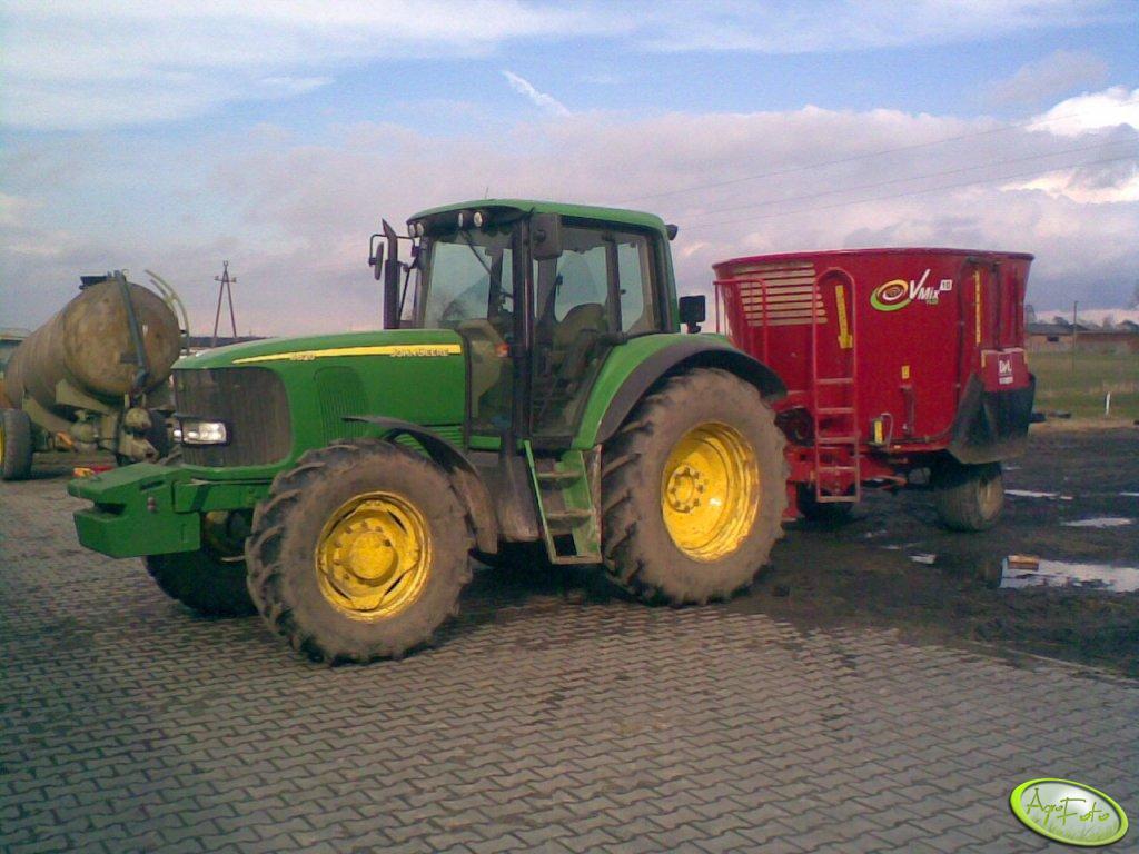 John Deere 6620 & VMix 10