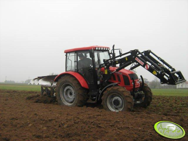 Farmer 8258 + Lemken Opal 110