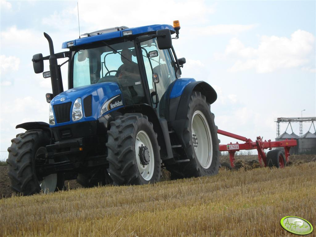 New Holland TS 115A + UNIA TUR 120B 35 4+1