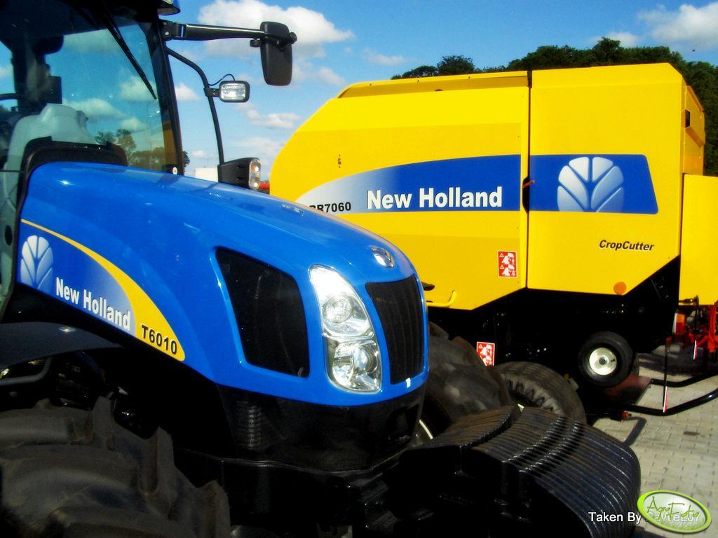 NH T6010 i prasa NH