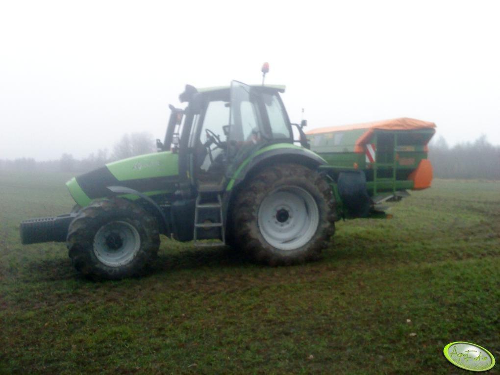 Deutz Fahr Agrotron 130 i Amazone ZA-M 3001