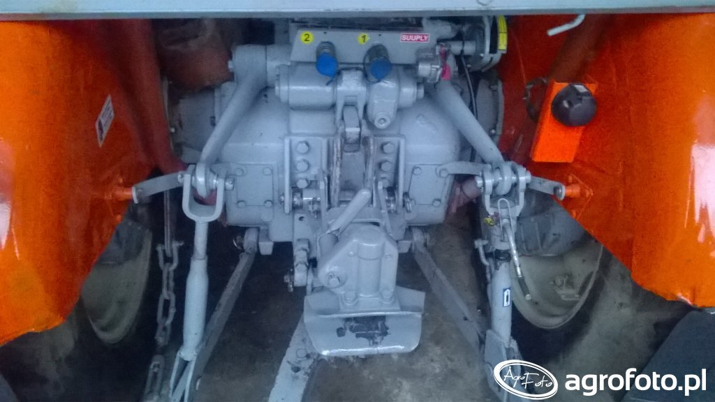 URSUS C-360 Zaczep automatyczny