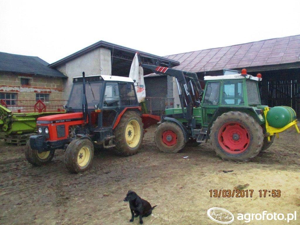 Fendt Farmer 306 LSA i Mailleux + Zetor 7711 i Lely