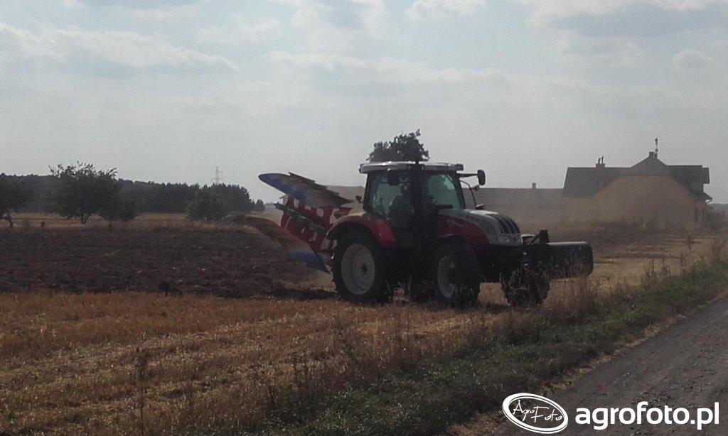Steyr 6115 Profi + Unia Ibis XLS Plus Long