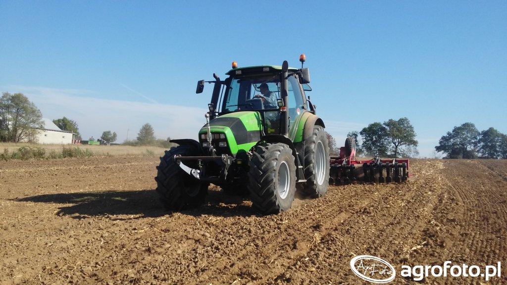 Deutz-Fahr Agrotron 150 & Agro Faktory Grom 5.3