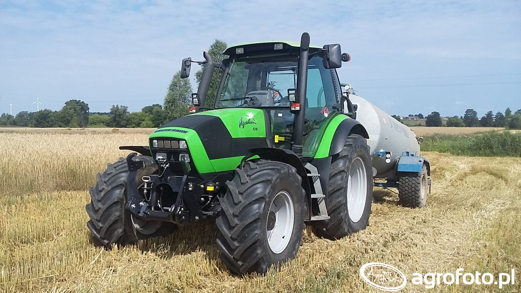 Deutz-Fahr Agrotron 150 & Meprozet 8500L