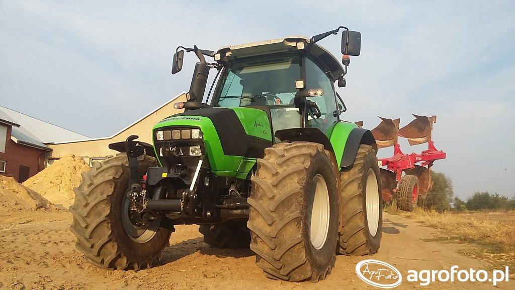 Deutz-Fahr Agrotron K420 & Unia Ibis 3+1 XXL