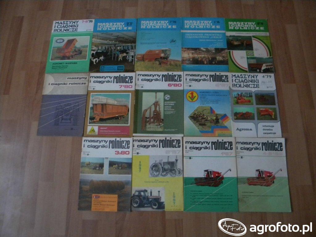 Czasopismo Maszyny i Ciągniki Rolnicze