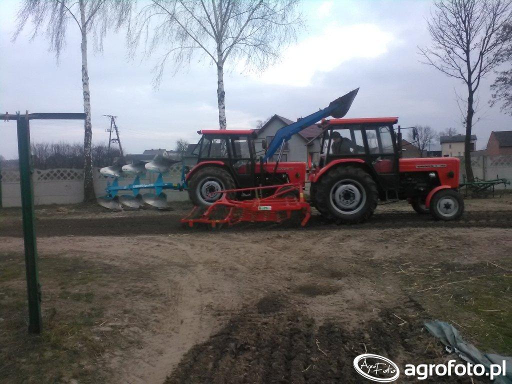 Ursus C-360 X2 &  Lemken , Unia Grudziądz