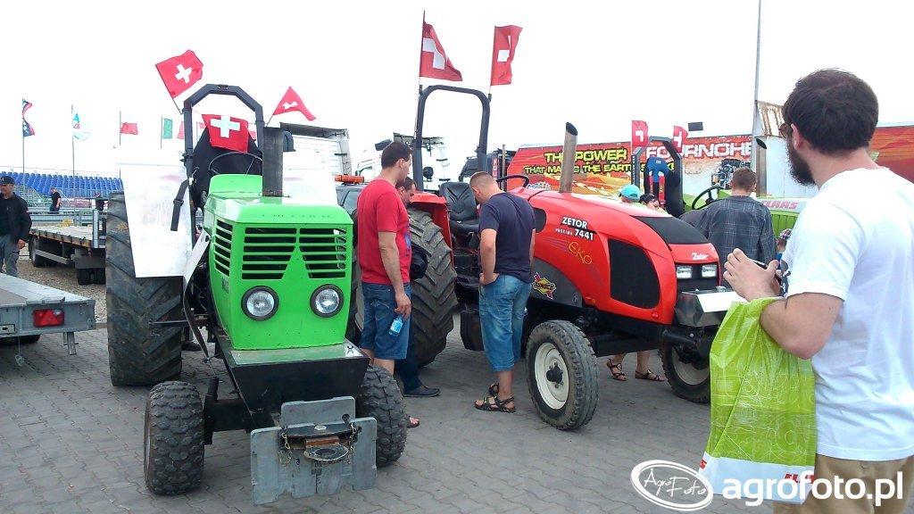 Tractor Pulling w Niepruszewie 2016
