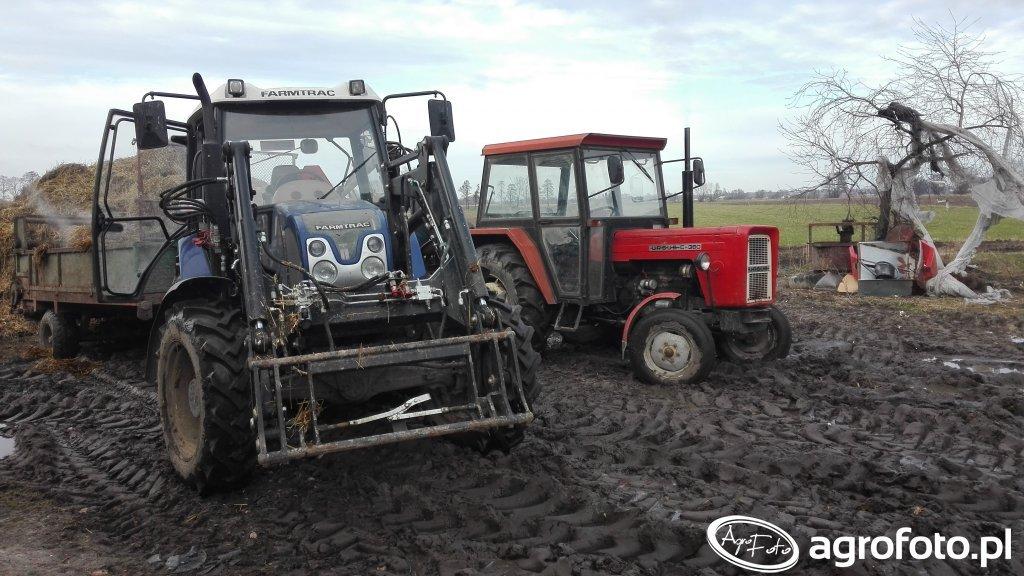 Farmtrac 675DTn i Ursus c 360