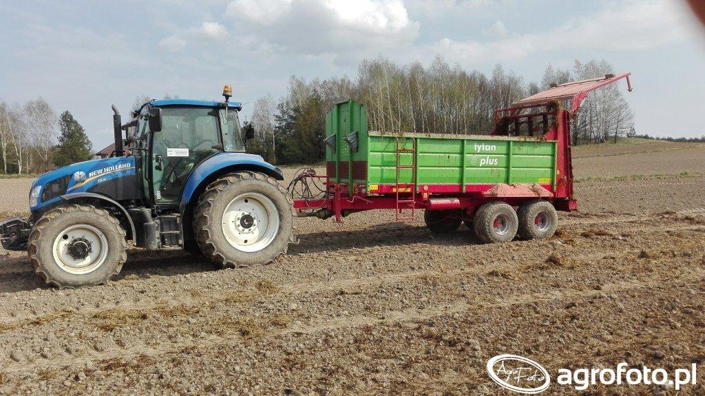 New Holland T5115 i TYTAN 8 PLUS