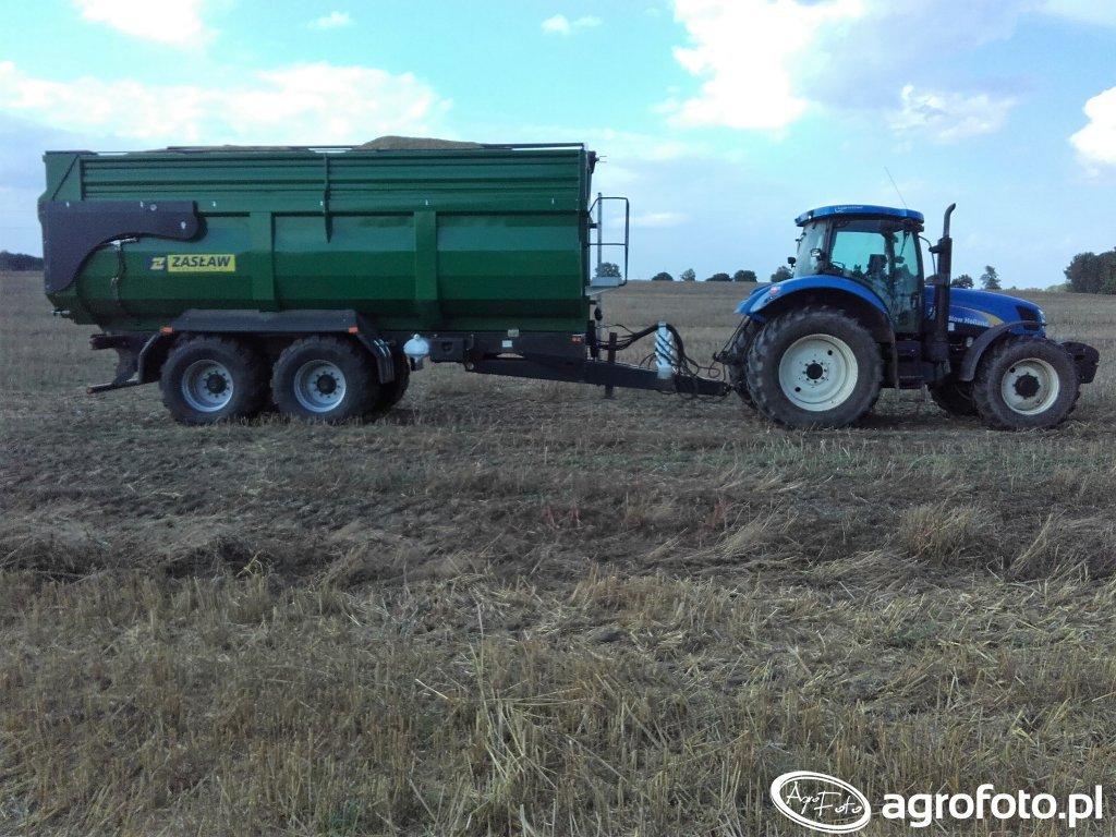 New Holland T6030 + Zasław D-764-21 1R