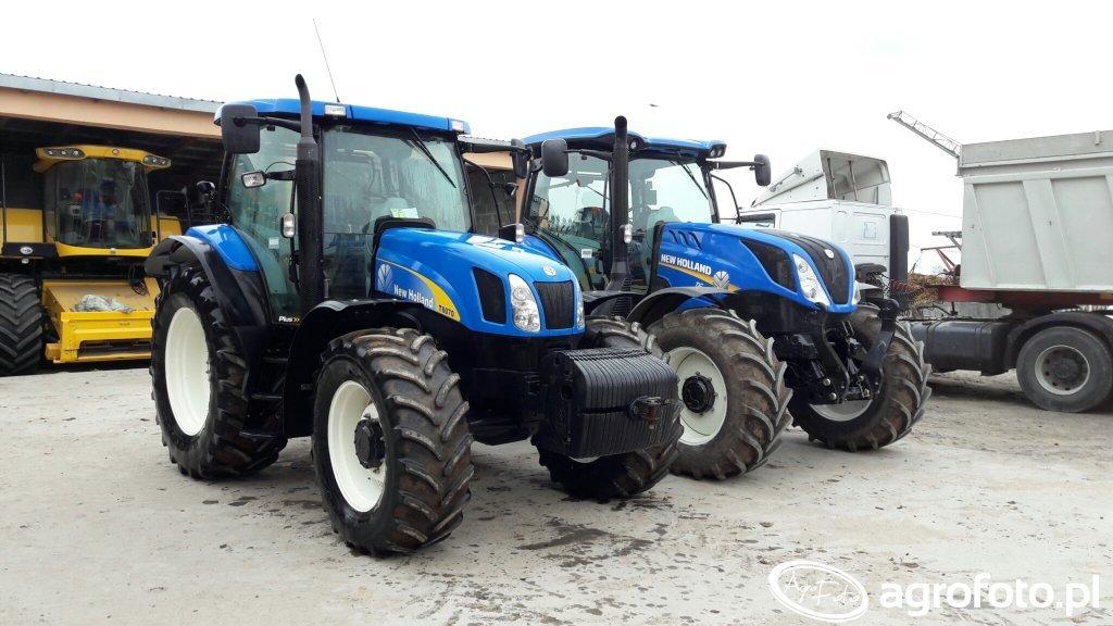 New Holland T6070 I T6.155