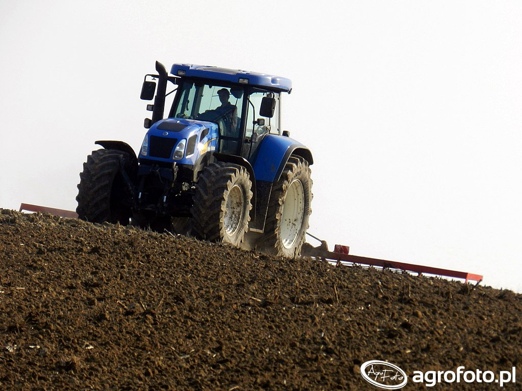 New Holland T7530 + Agro Max