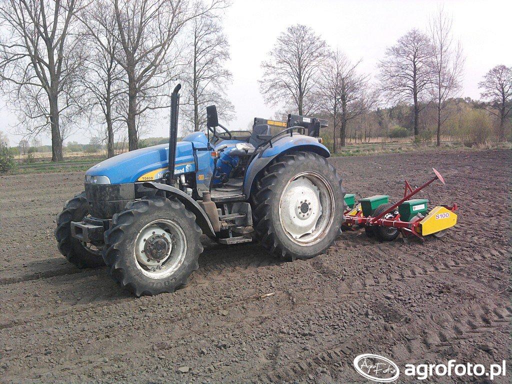 New Holland TD 80D Plus $ Meprozet S100