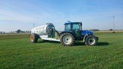 New Holland TL100A \u0026joskin