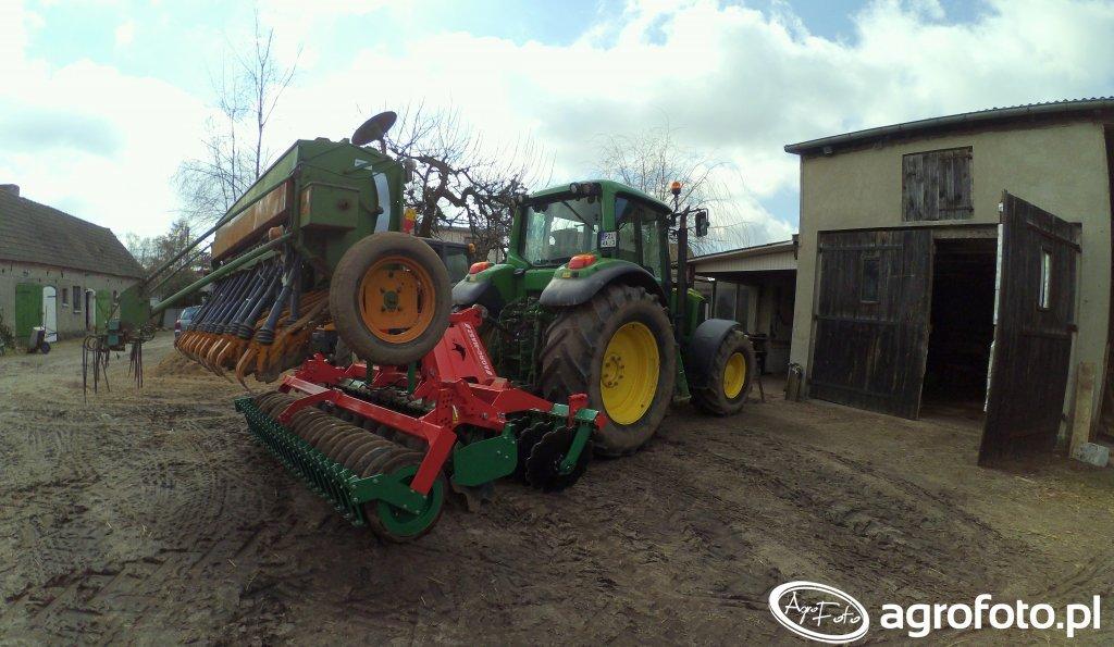 John Deere 6620P Agromasz Amazone
