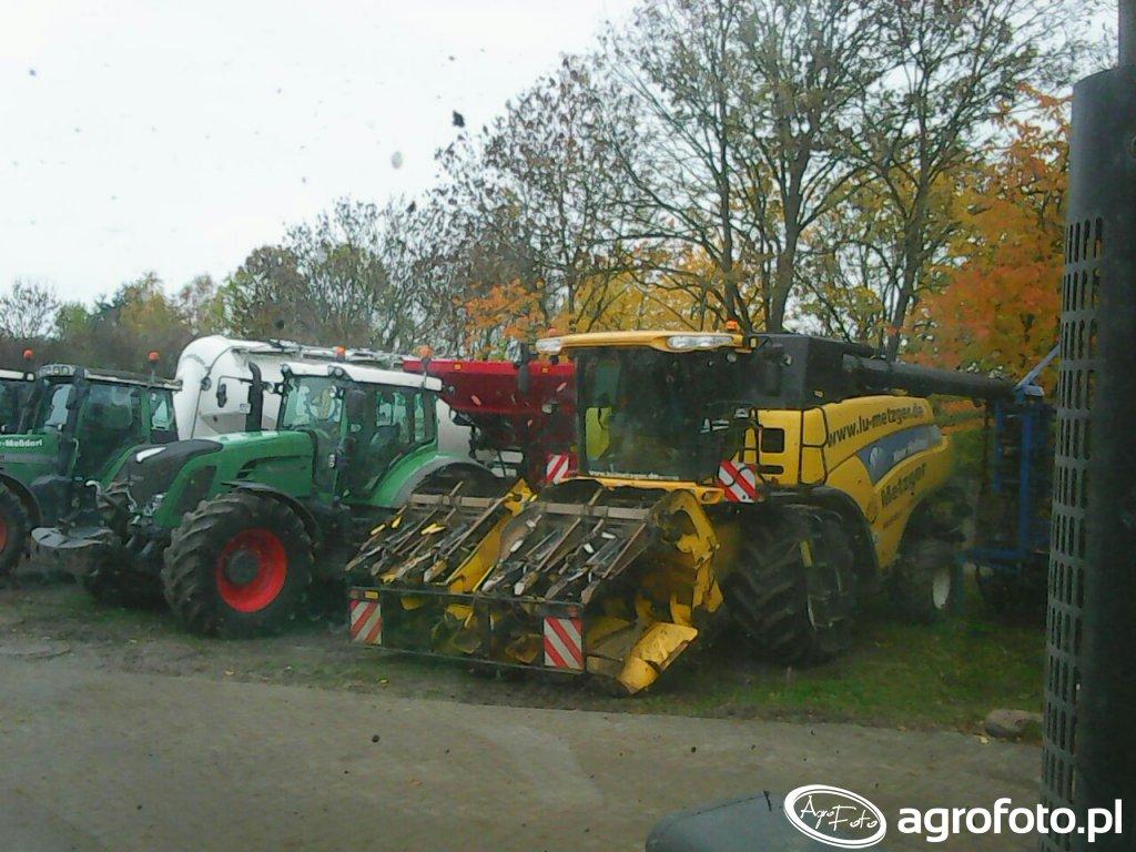 New Holland CX 10.90 + Fendt