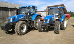 New Holland T6.175 & New Holland TD5.85\n