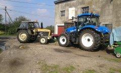 New Holland T6.175 & U 1012