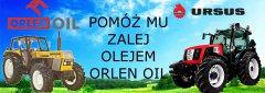 Pomóż mu zalej olejem Orlen Oil