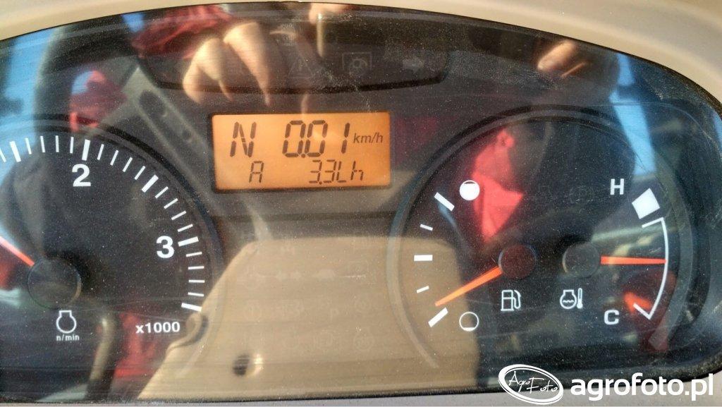 Kubota m7060 średnie zużycie paliwa