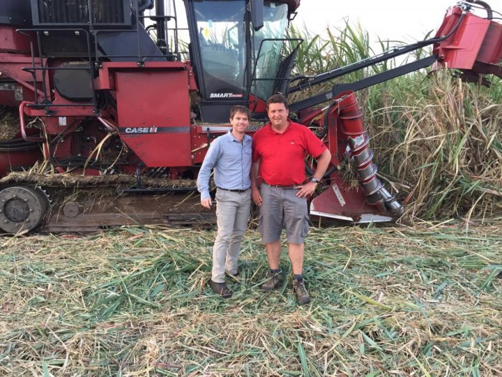 Conrad Rautenbach, General Manager of Green Fuel and Yoann Clarisse_ Case IH.JPG
