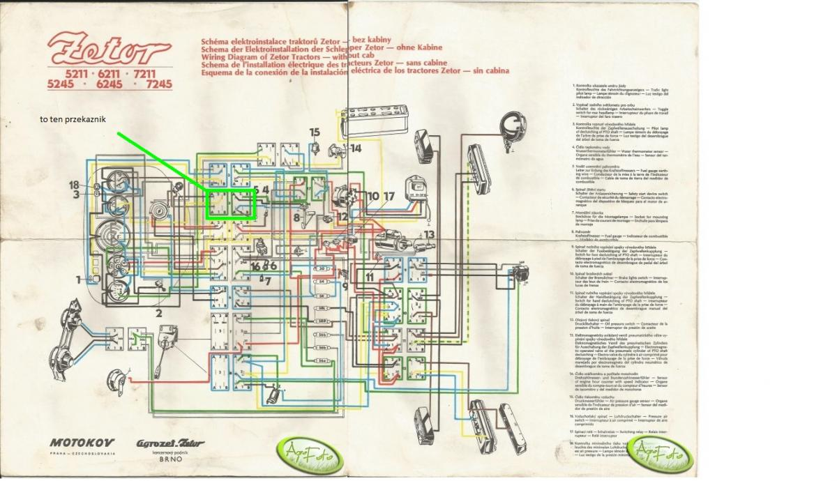 Electrical Wiring Diagram Ford Tractor 4340 Alternator 1941 Zetor 3340 Page 3 And Schematics On