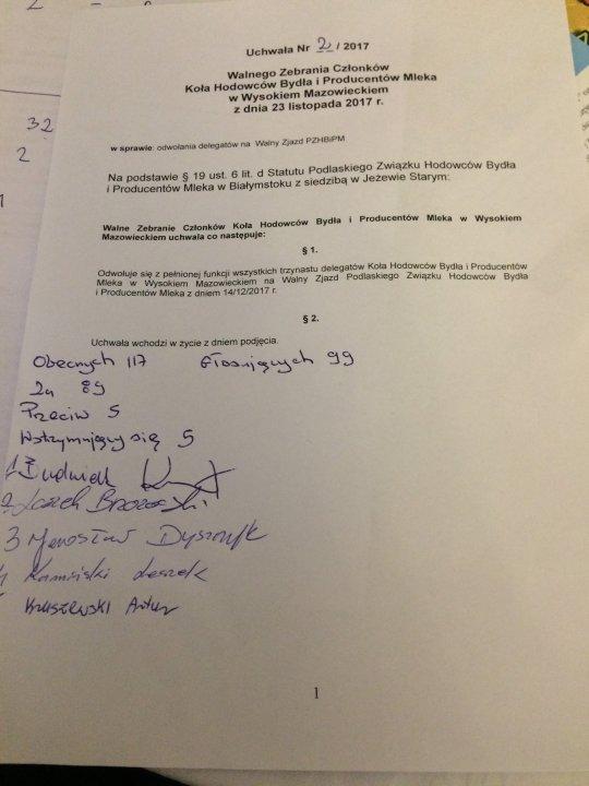 Uchwała nr 2_odwołanie delegatów (23.11.2017).JPG