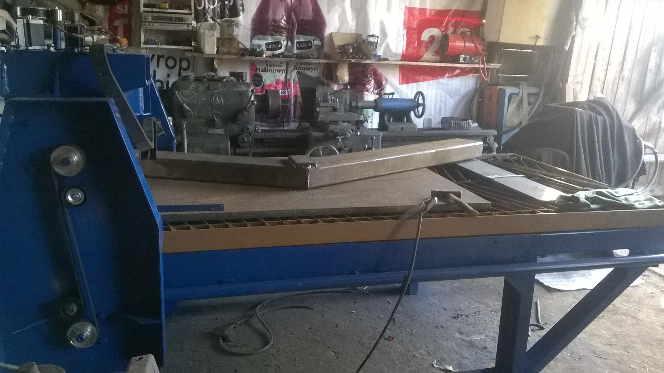Wspaniały Budowa stołu CNC do plazmy - Obrazek, fotka, zdjecie, photo NB68