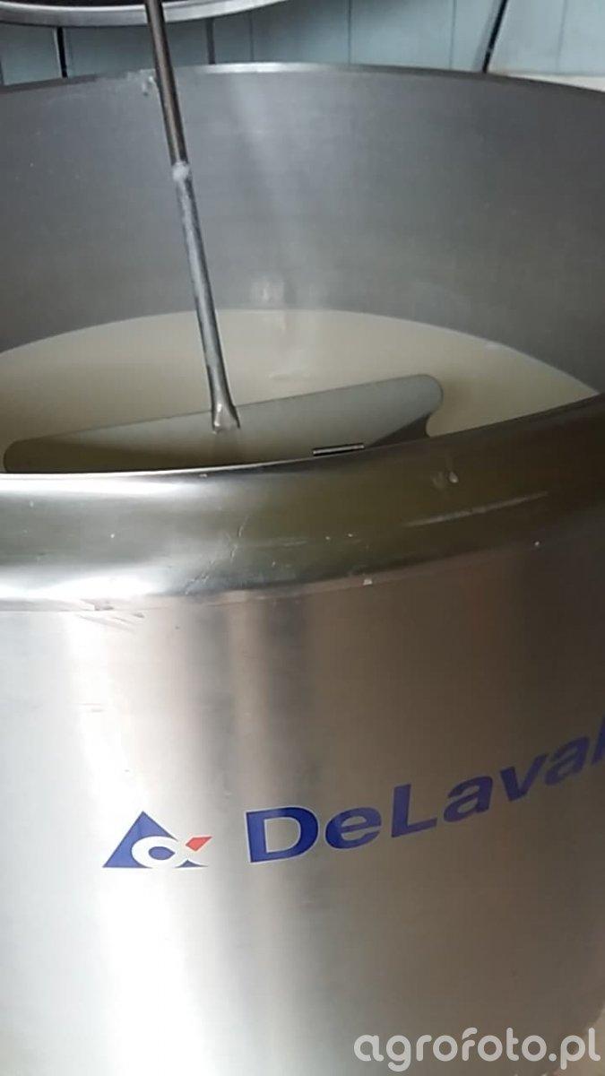 Zbiornik na mleko