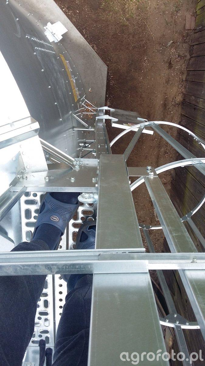 Drabina silosa Bin.