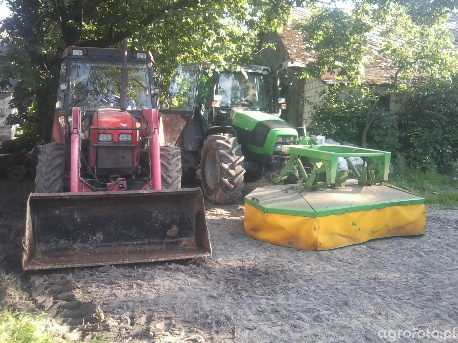 Deutz-Fahr Agrofarm 430 & Zetor 7340