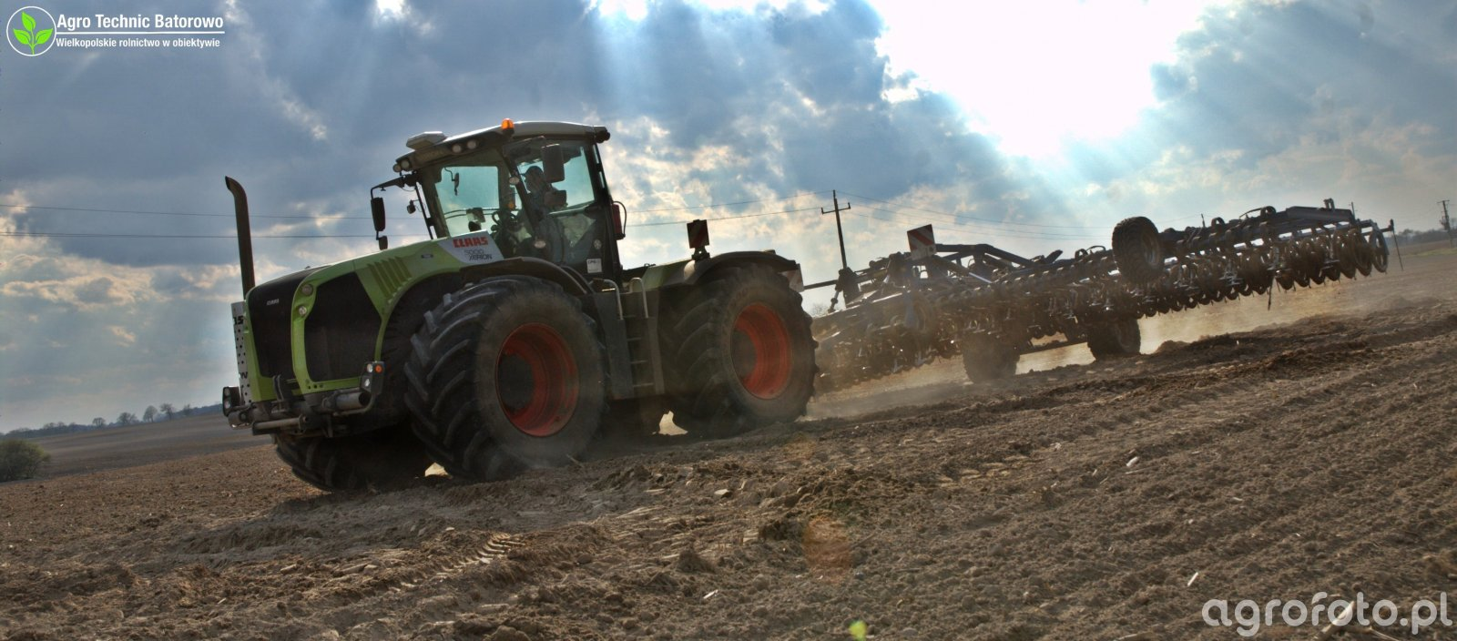 Claas Xerion 5000 + Koeckerling Allrounder