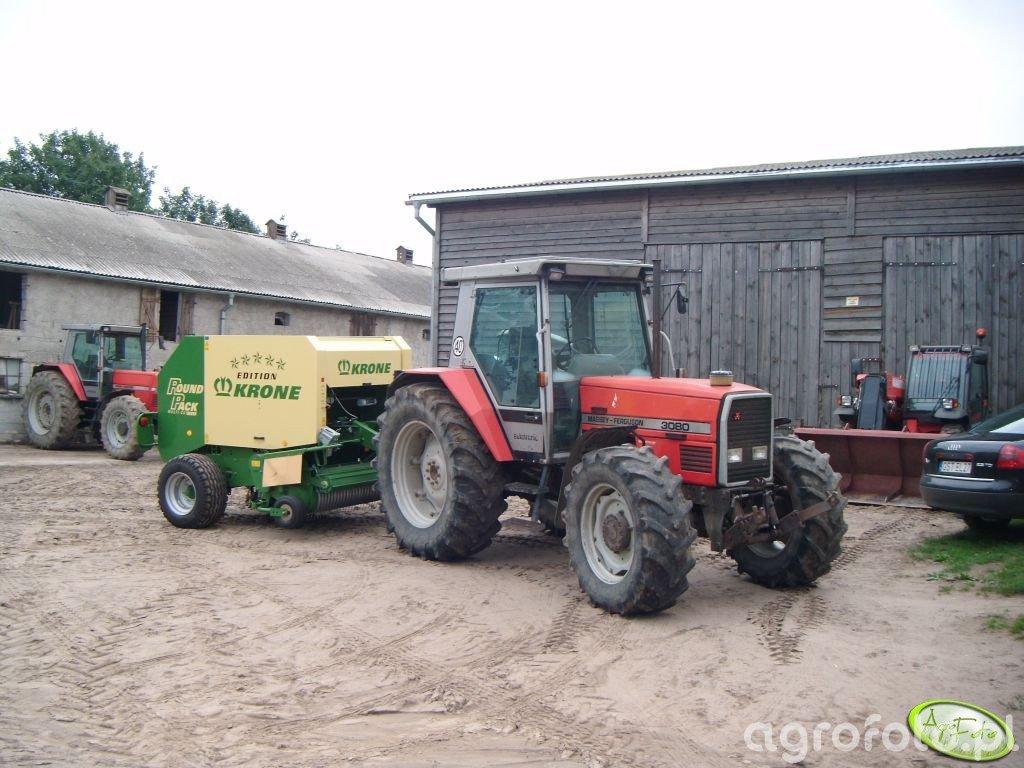 MF 3080 & Krone 1250 MC