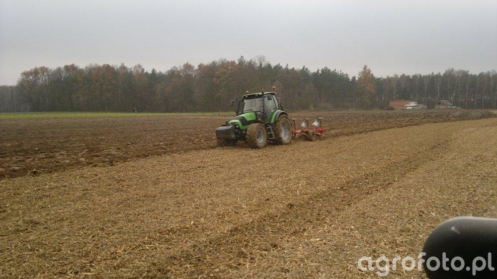 Deutz-Fahr Agrotron 150 & Unia Ibis 3+1 XXL