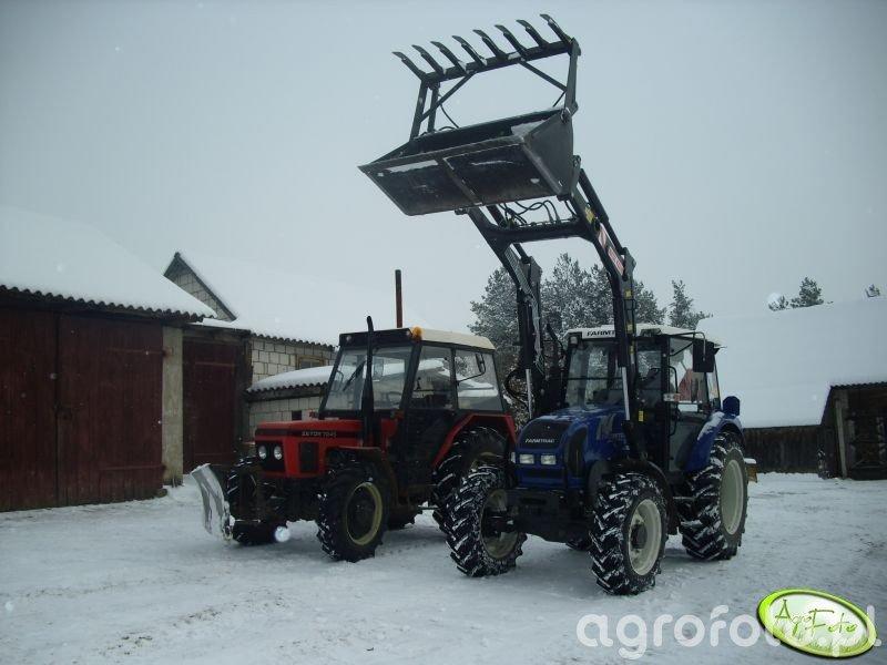 Farmtrac 80 4WD i Zetor 7245