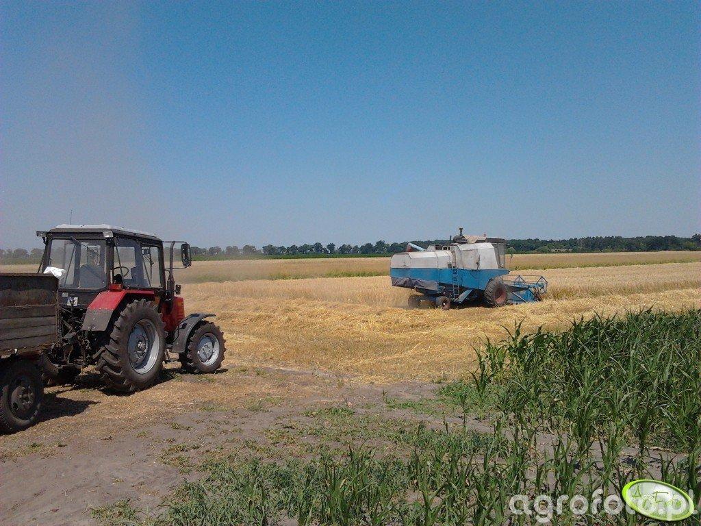 Belarus 820 i Fortschritt E-512