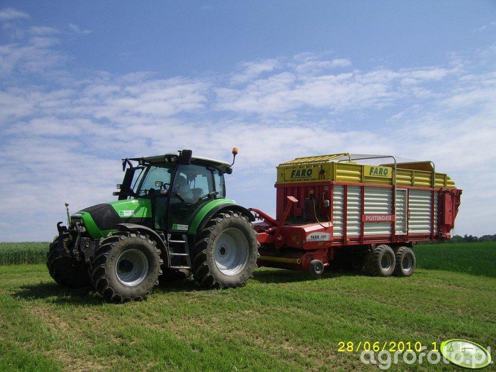 DF Agrotron 430 i Pottinger Faro 4000