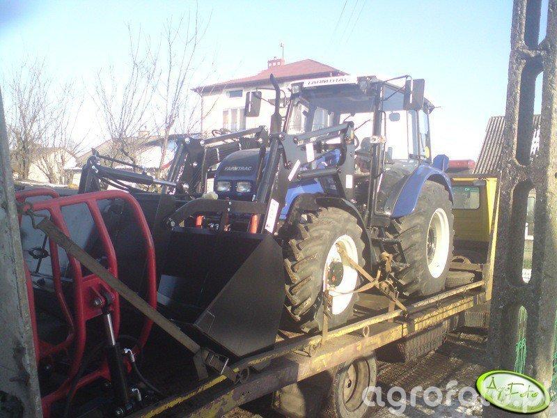 Farmtrac 675 DT + Tur Ł-104
